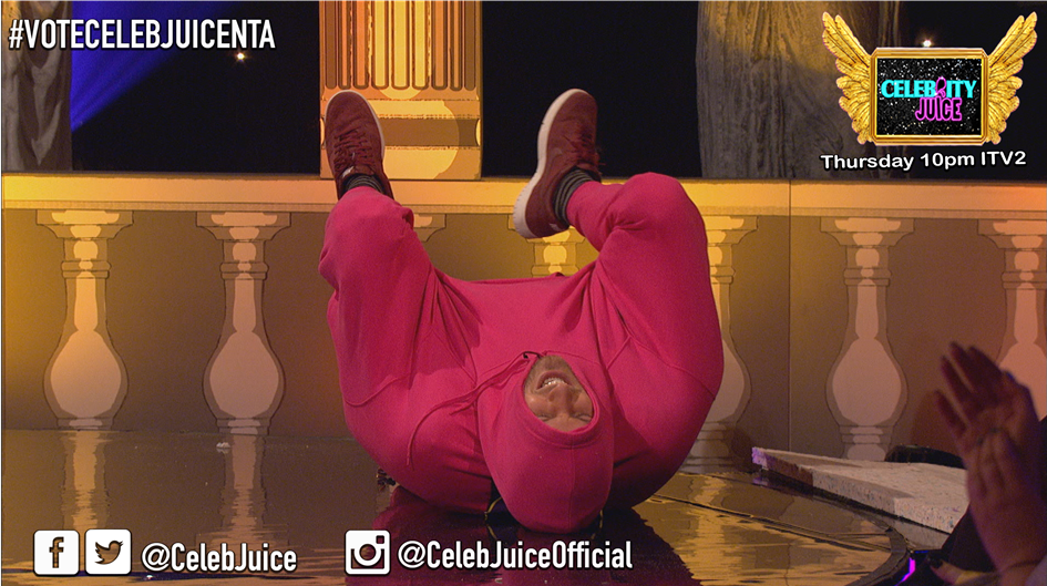 When you get merked by a chaser @IamChrisRamsey #CelebJuice https://t.co/DkT6UGtEqZ