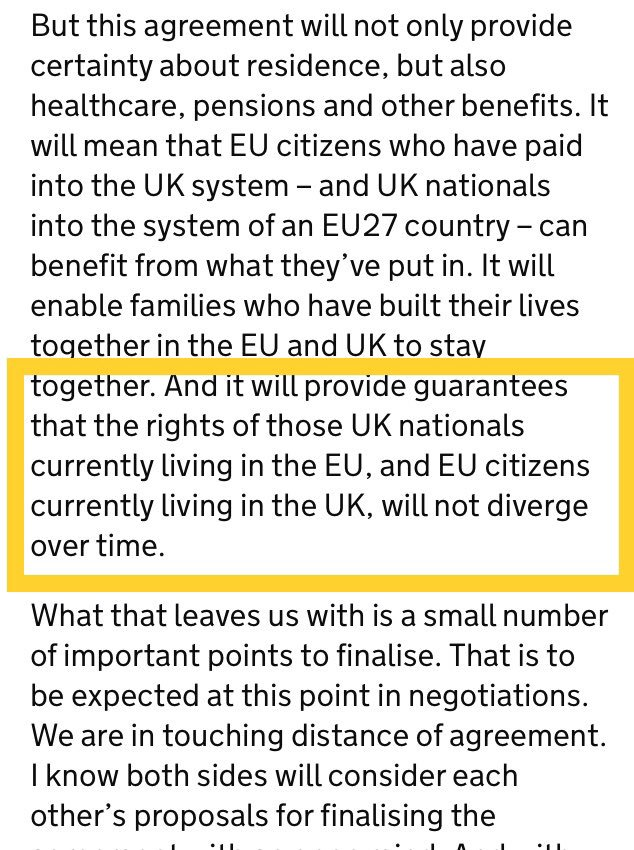 1/2. Diverge from each other or, separately, from their respective current positions? Big difference #EUlaw #brexit #openletter #may <br>http://pic.twitter.com/jWuOUIgN2K