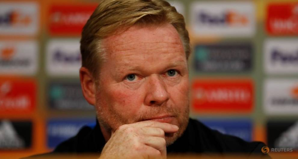 Manager Koeman backed by Everton board d...