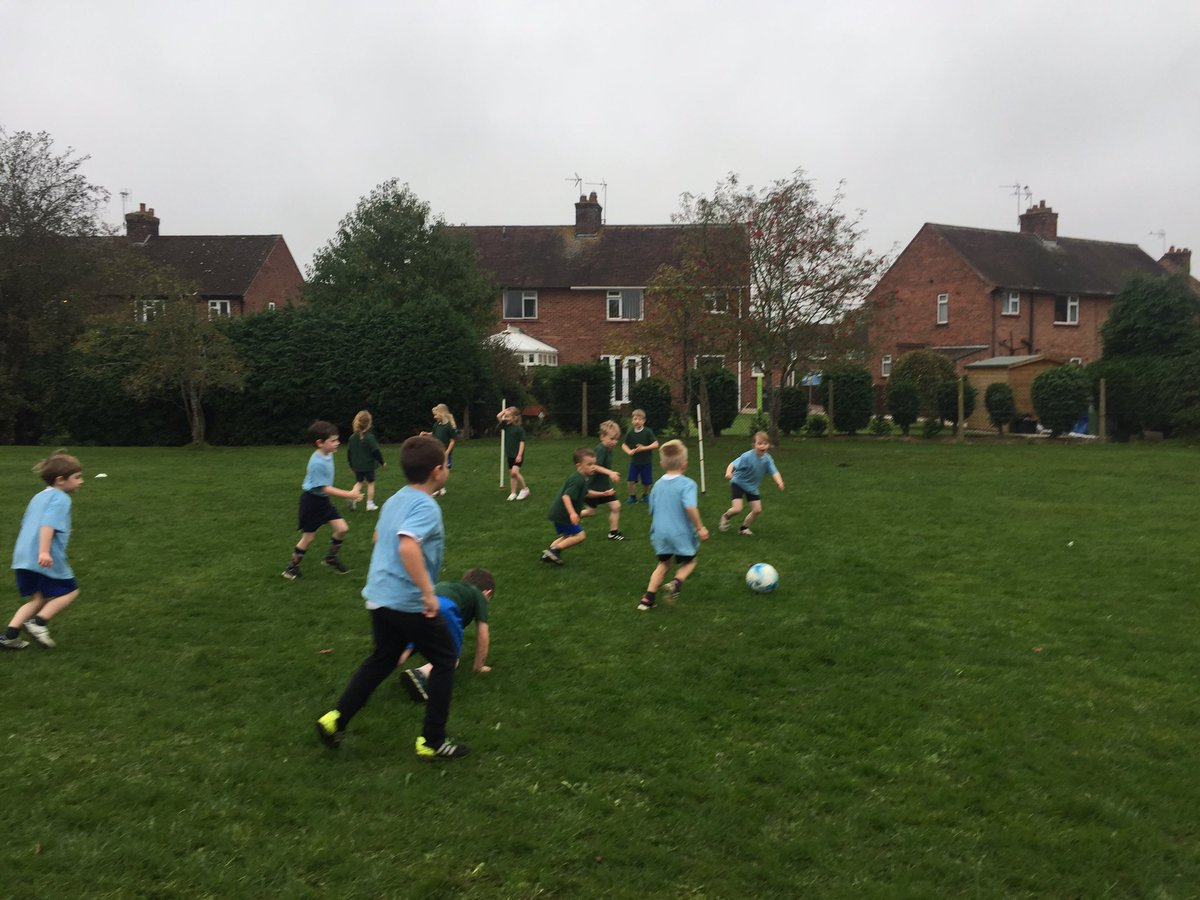 House sports morning across school today. Children are playing 7 a side football #housesports #football