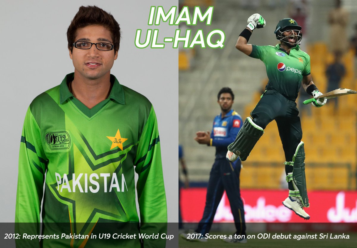 Imam-ul-Haq is the latest in a long line of graduates from the #U19CWC to make his mark in full internationals! #FutureStars