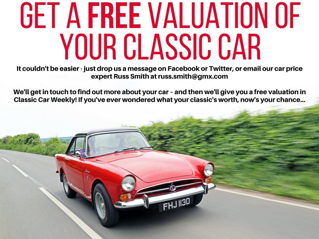 "Classic Car Weekly on Twitter: ""Great way to find out what your classic car  is worth :-)… """