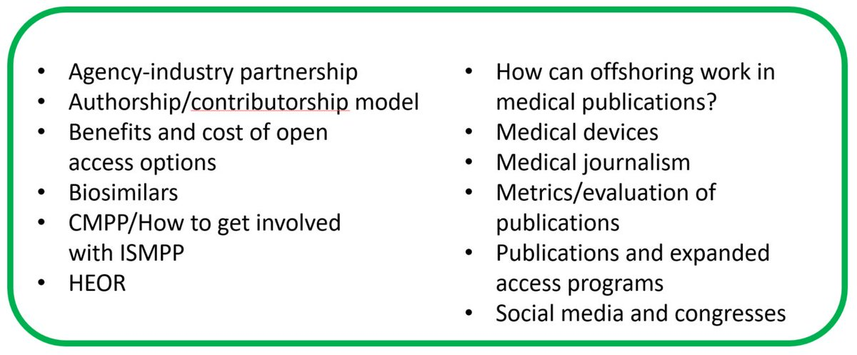 Round-table topics are out for the next EU @ISMPP meeting: 23-24 January 2018, London. Full prelim prog:  https:// tinyurl.com/ycrrxhcg  &nbsp;   #medcomms <br>http://pic.twitter.com/5850sIGtkI