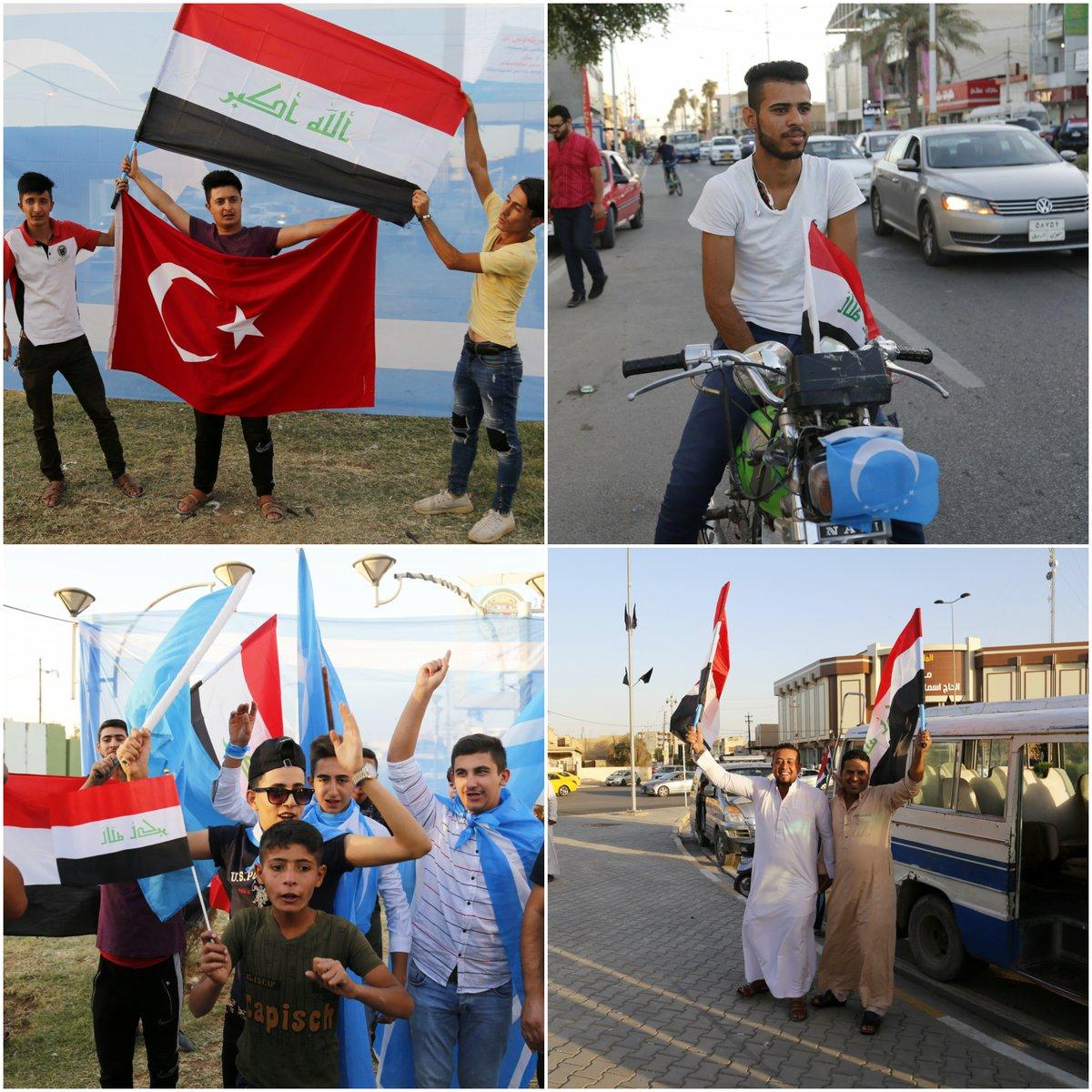 #Kirkuk #celebrates after #Iraqi forces...