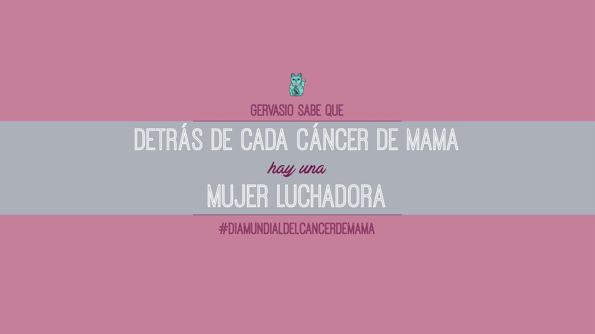 Por todas aquellas mujeres que luchan cada día contra el cáncer de mama. El equipo de #amimanerapeli os apoya 💪#DiaMundialdelCancerdeMama
