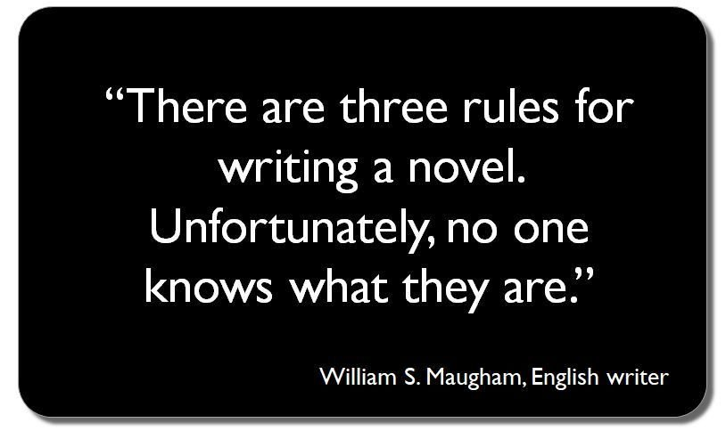 """There are three rules for writing a novel.  Unfortunately, no one knows what they are."" #ECRchat #EMCRForum #postdoc<br>http://pic.twitter.com/aRPhcY4TzX"