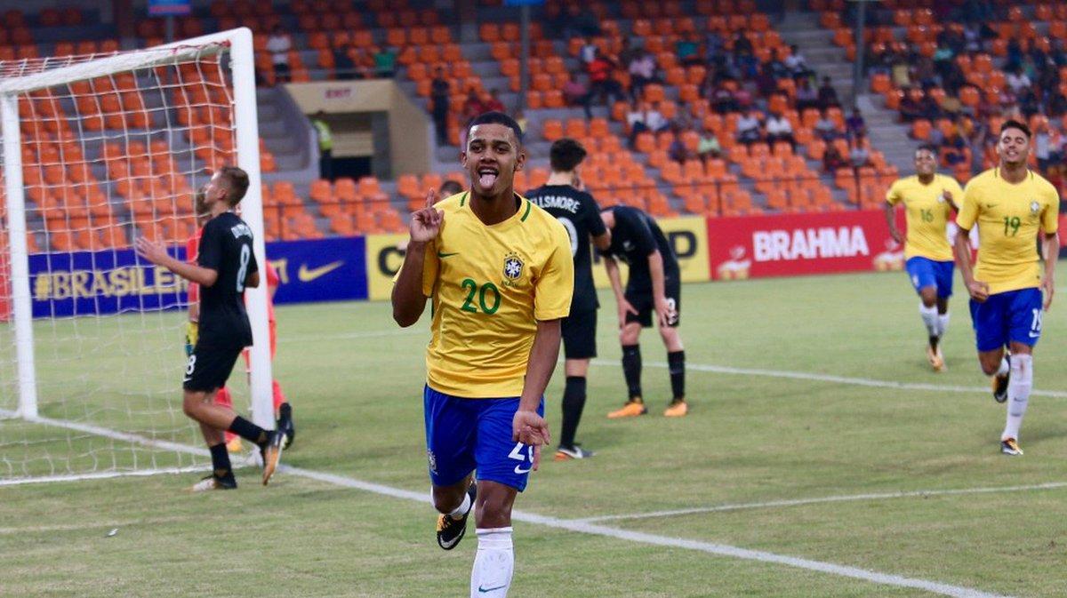Nem 7 a 1, nem ouro olímpico: Brasil sub-17 quer capítulo próprio contra Alemanha, pelas quartas do Mundial https://t.co/slfpQGeY3M