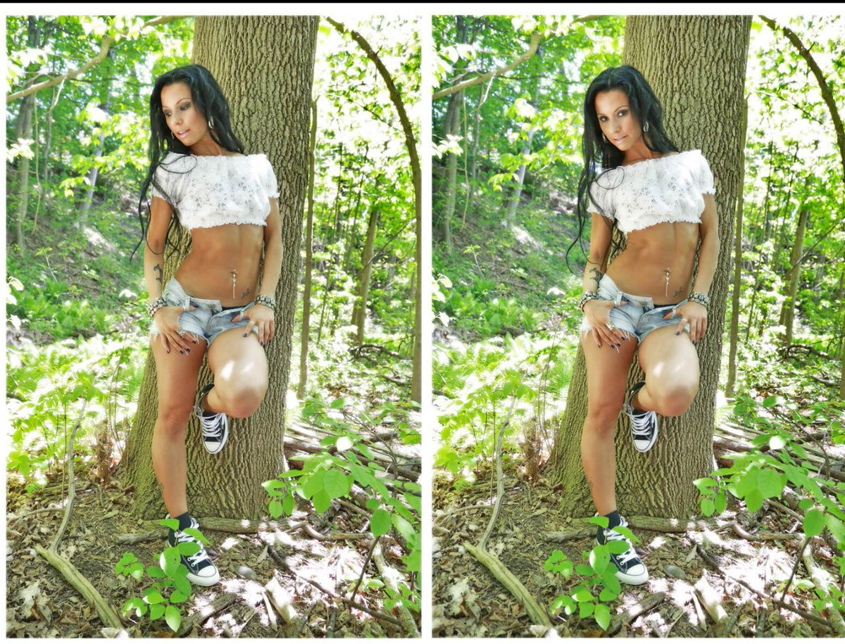 Hangin out in the woods again @classicb2017 @HeavenlyBabes @FbsOriginal @cake_eater2  #Tbt #Model3 #fitfam #beautiful #abs #legs #fitchick <br>http://pic.twitter.com/1un248rau3