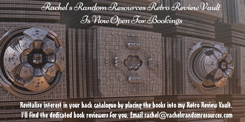 #author renew interest in an older title by adding it to my Retro Review Vault and gain new #bookreviews  https://www. rachelsrandomresources.com/review-vault  &nbsp;  <br>http://pic.twitter.com/yPYLdj92Ja