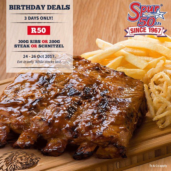 "Spur Steak Ranches On Twitter: ""To Celebrate"