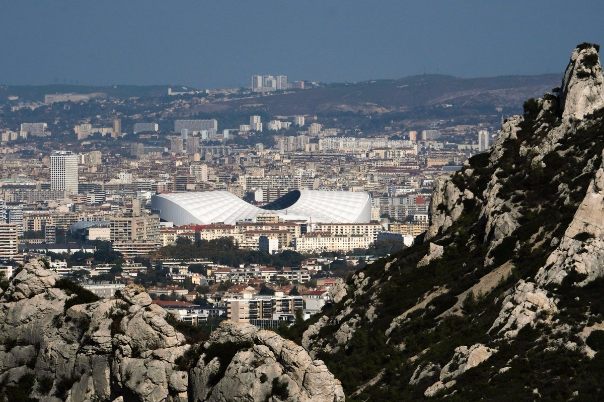 The Stade Vélodrome 😍😍😍  Favourite stadi...