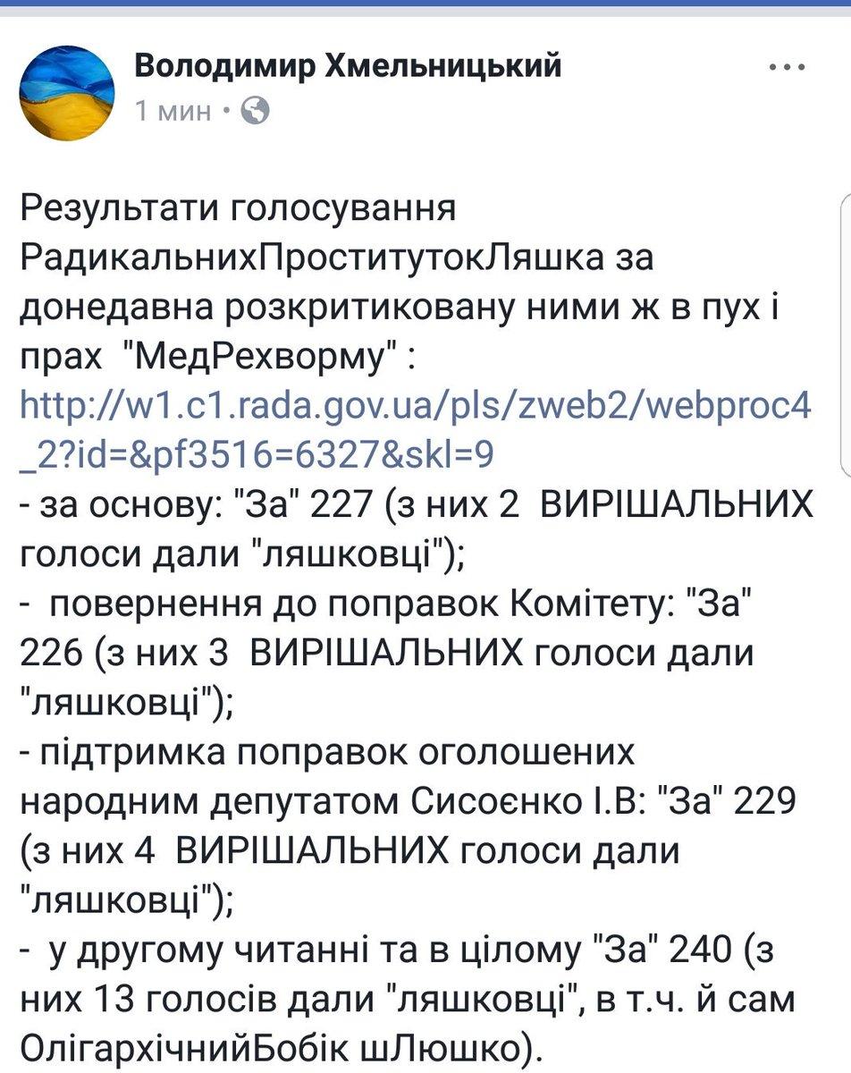 Рада приняла медреформу - Цензор.НЕТ 521