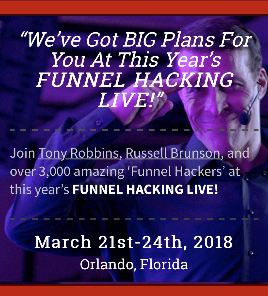 rachel pedersen on twitter im sooooo excited to announce that ive been chosen as a speaker at funnel hacking live get your tix now