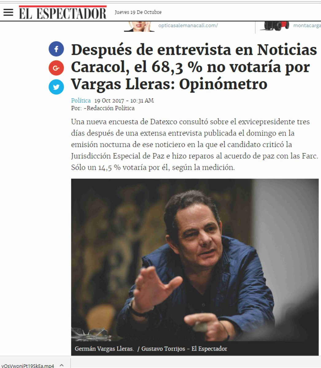 #ElTiroPorLaCulata   @German_Vargas http...