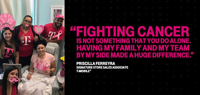 When Priscilla found out she had breast cancer, she was only 25. Here&#39;s her story. #BreastCancerAwareness  https:// t-mo.io/2x5FgMB  &nbsp;  <br>http://pic.twitter.com/qTgWTV1yU7