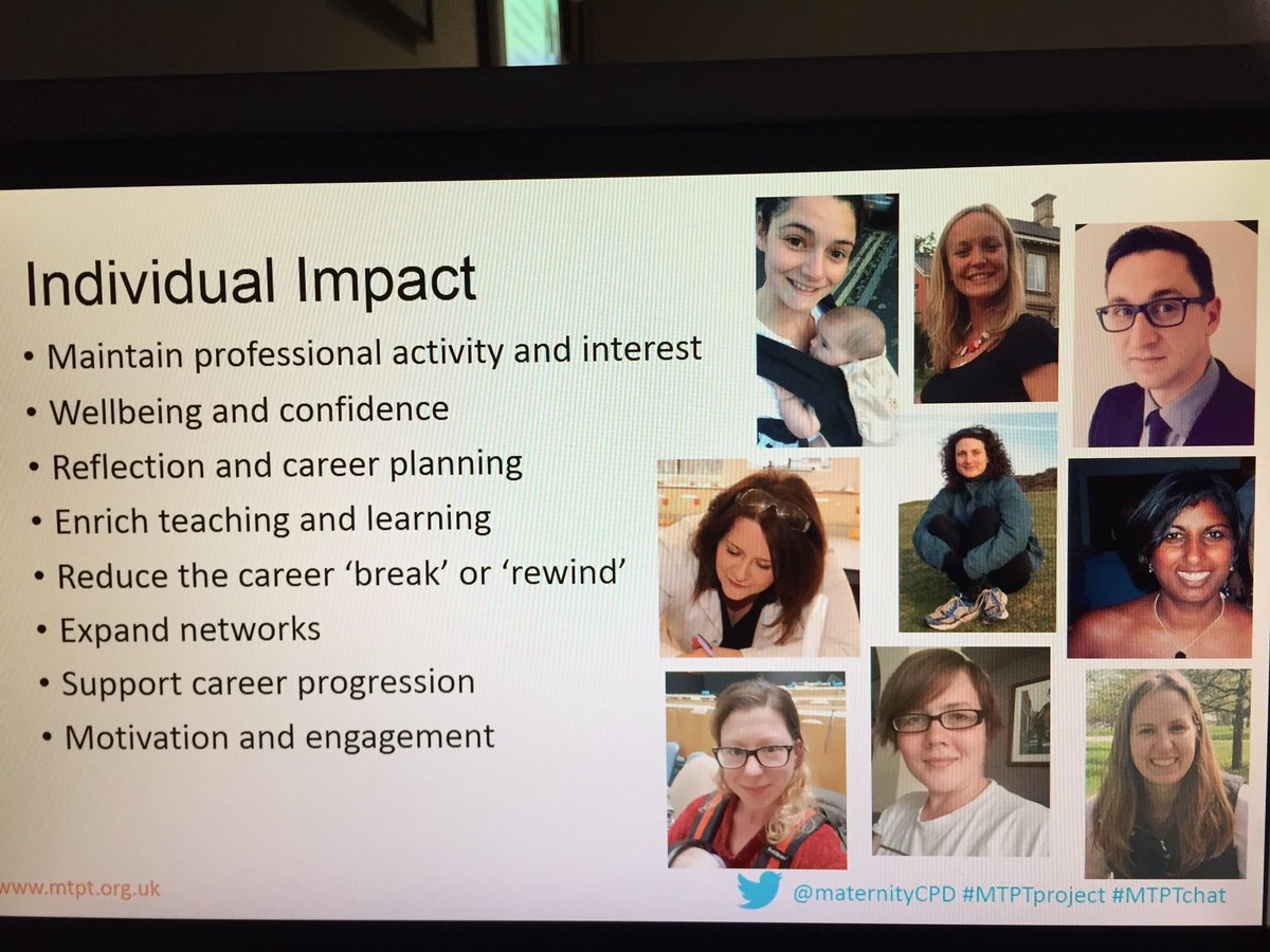 Impact of #MTPT community and collaboration with other groups to explore this time of a parent/teacher&#39;s life.   #WomenEd @WomenEdLondon<br>http://pic.twitter.com/UCGw2d1W4o