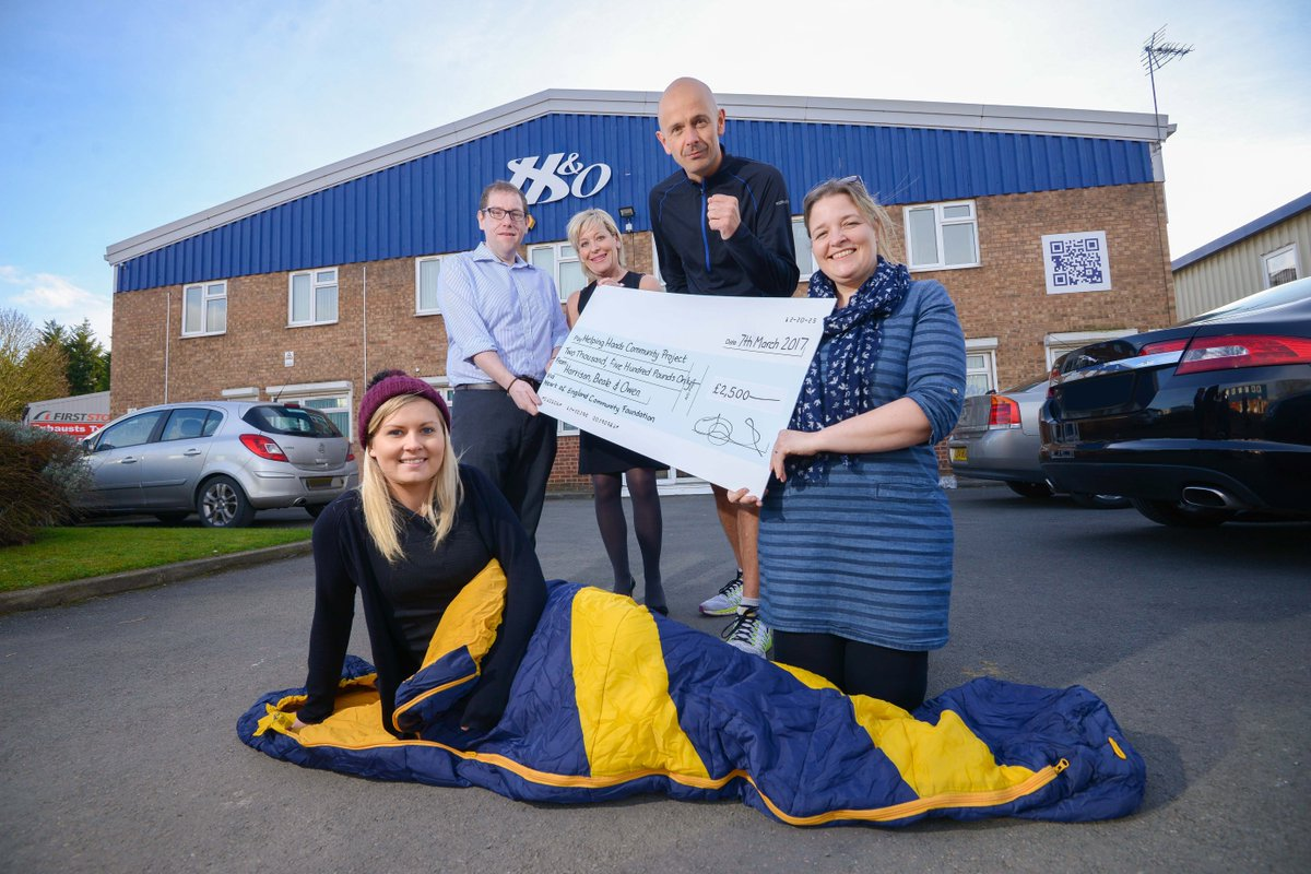 A big thank you to @HBOltd  who raised £832 at their #charity quiz night! The money raised will go towards supporting #local projects!  <br>http://pic.twitter.com/areuai1sp3