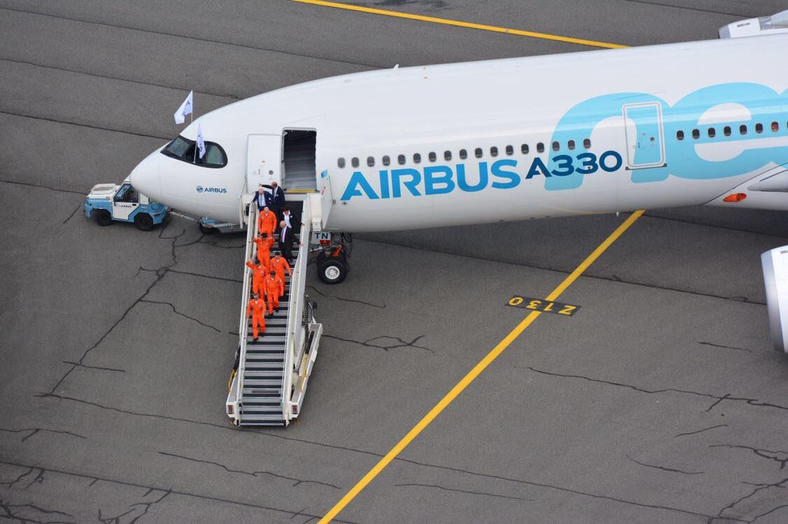 Good job guys! 👍🏻✈️ #A330neoFF