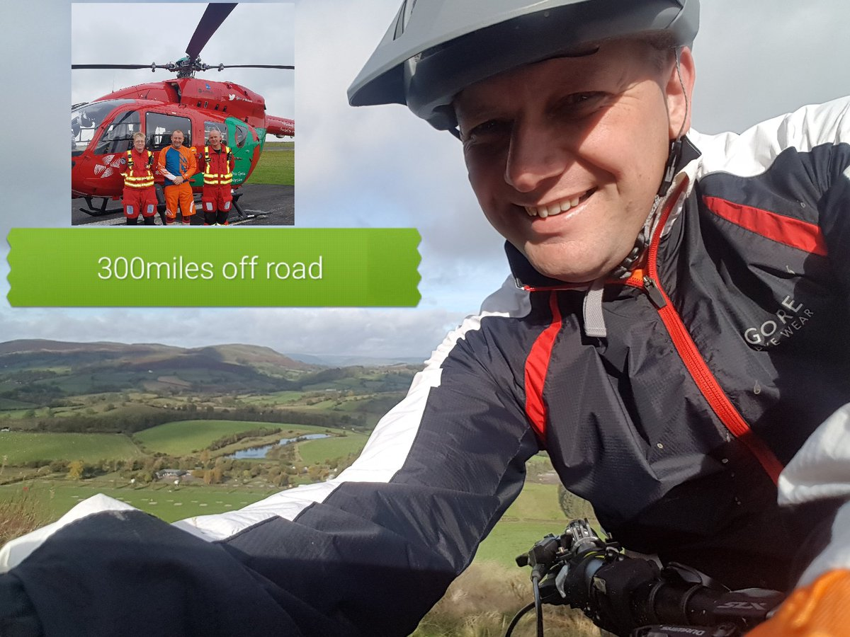 Please Retweet  I&#39;ve #mtb wales 300 miles offroad for 2 great charity&#39;s @air_ambulance @MAA_Charity  #sponsor  http:// m.virginmoneygiving.com/mt/uk.virginmo neygiving.com/fundraiser-web/fundraiser/showFundraiserProfilePage.action?userUrl=rodsroughandtumblezipwire&amp;un_jtt_redirect &nbsp; … <br>http://pic.twitter.com/3ZWTdIJw6T