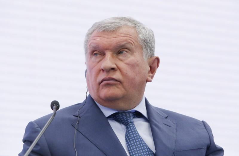 Rosneft's Sechin says no watershed in oi...