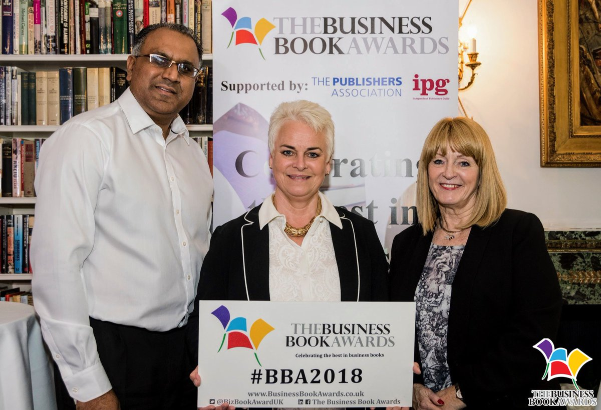 #BBA2018 @SafarazAli, @LucyMcCarraher &amp; @terri_delia at our launch event at @TheRagClub #London #BusinessBook #Books #Author #Awards #UK<br>http://pic.twitter.com/MevGw7rALP