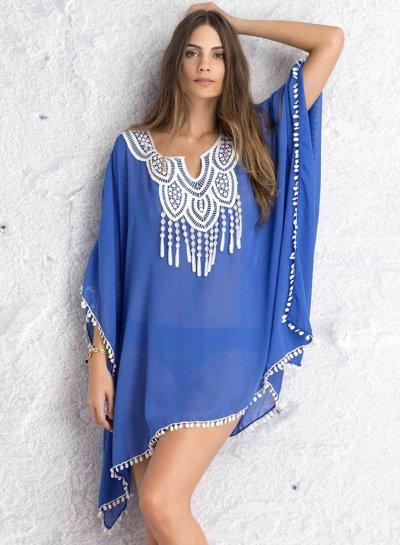 Batwing Sleeve Chiffon Cover-up Bikini Swimwear |   http:// ow.ly/BSgt30fZbVd  &nbsp;   #flockbn #87RT #fashion #fashionblogger #smartsocial #likeforlike <br>http://pic.twitter.com/VLtZvKeSao