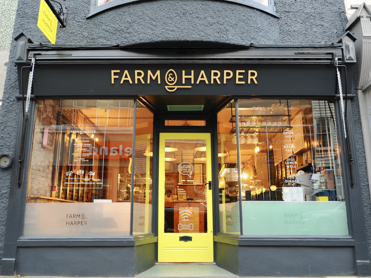 Swing by this afternoon for a cuppa... it might be dreary outside but it&#39;s nice and bright in here! #farmandharper #welcome #whitstable<br>http://pic.twitter.com/Lb4sLjGabC