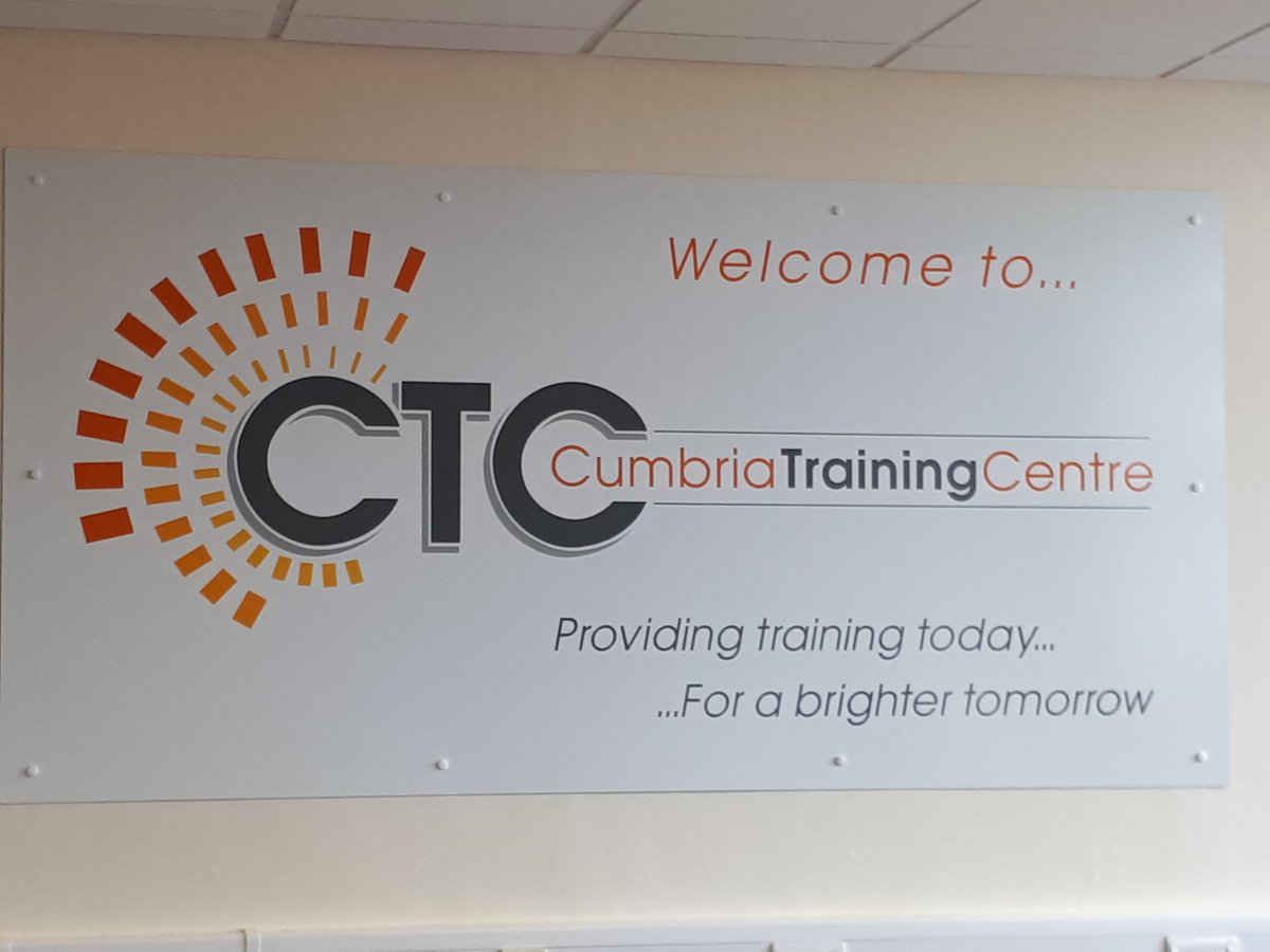 Great Local Suppliers:CTC Training Centre Barrow https://t.co/kDZCVlsG...