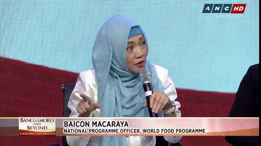 @IanEsguerra @LexiSchulze Baicon Macaraya of World Food Programme: Recurrence of conflict will create further deprivation of basic services. #BangsaForum  https://t.co/rc30HHngyl