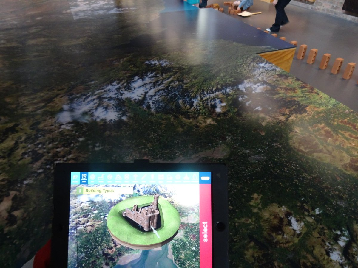 First visit @welovehistory @TheEngineShed Lots of info presented in innovative way #interactive map &amp; iPad  supporting #Scotland heritage<br>http://pic.twitter.com/OdsXr5yd4S