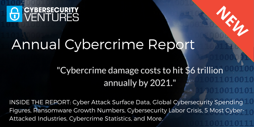 NEW! Official Annual #Cybercrime Report from @CybersecuritySF, Sponsored by @HerjavecGroup - Cybercrime Costs &amp; More  https:// cybersecurityventures.com/hackerpocalyps e-cybercrime-report-2016/ &nbsp; … <br>http://pic.twitter.com/zCtNg25cv3