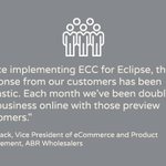 We are excited to announce #EpicorCommerceConnect (ECC) solution is now available for #EpicorEclipse. https://t.co/IAzuauYT0S