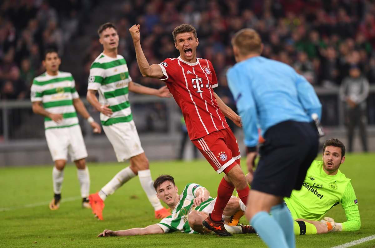 Yes!!! ⚽️ We will see us again in 12 days. 😀 #UCL #FCBCEL #MiaSanMia #...