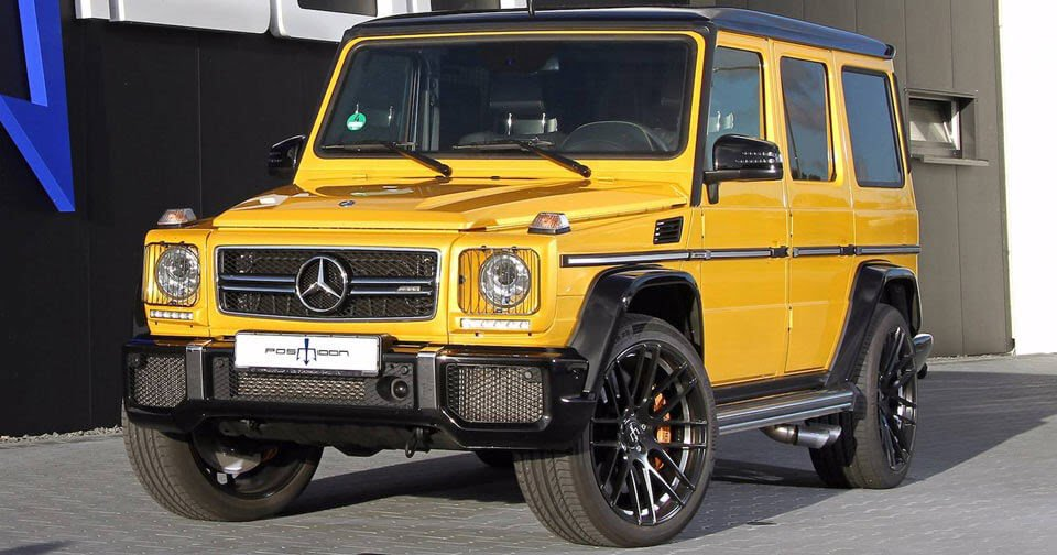 Posaidon&#39;s #Mercedes-AMG G63 Is An 850 HP Monster  http:// j.mp/2yun9DY  &nbsp;   #OffRoad<br>http://pic.twitter.com/vXvSSNhzBY