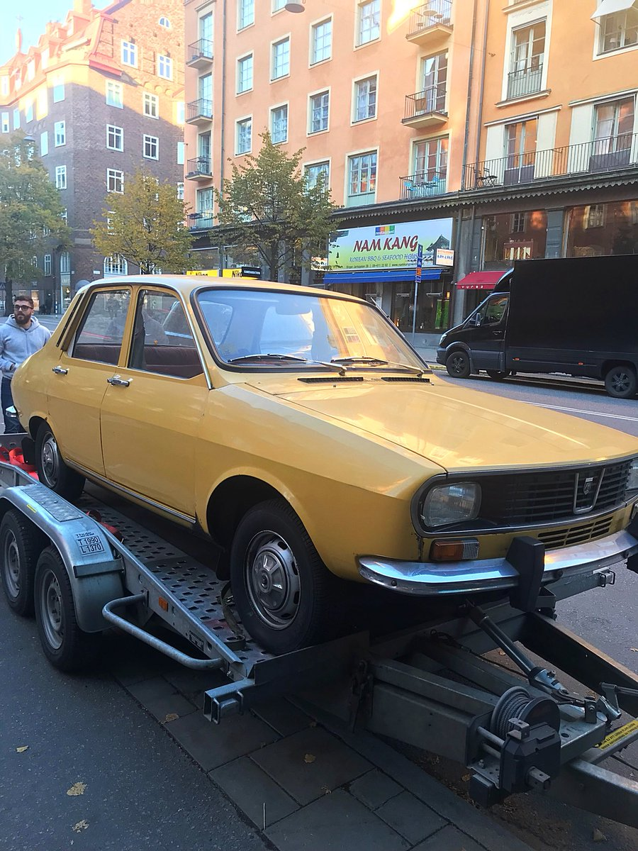 Did we (@GlobalLoot) just buy an original Dacia, the exact same as the one in the game PU:BG? Yes we did