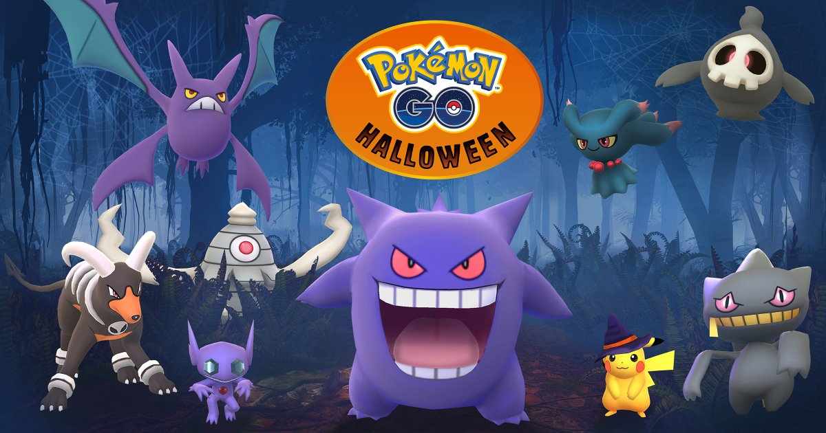 Pokémon Go's Halloween update introduces new monsters from Ruby and Sapphire https://t.co/A68r36Tcak