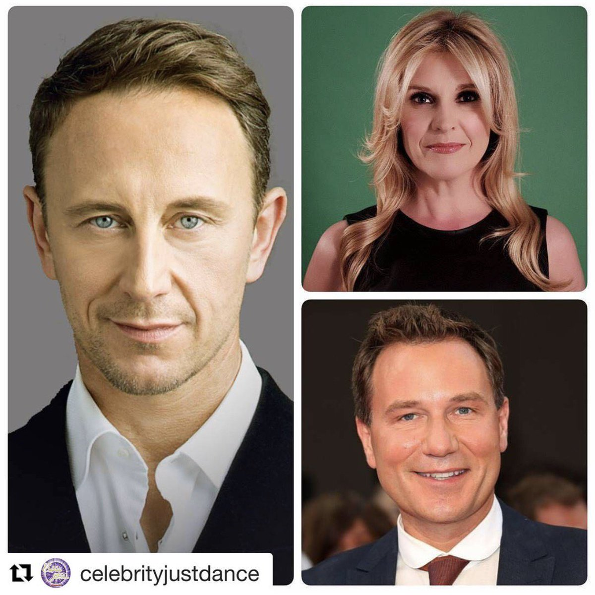 This year on Celebrity JustDance - our Head Judge -@ianwaite! Along on our  studded panel are @yvieburnett &amp; @tvsrichardarnold! #psyched  <br>http://pic.twitter.com/OL5lDpe212