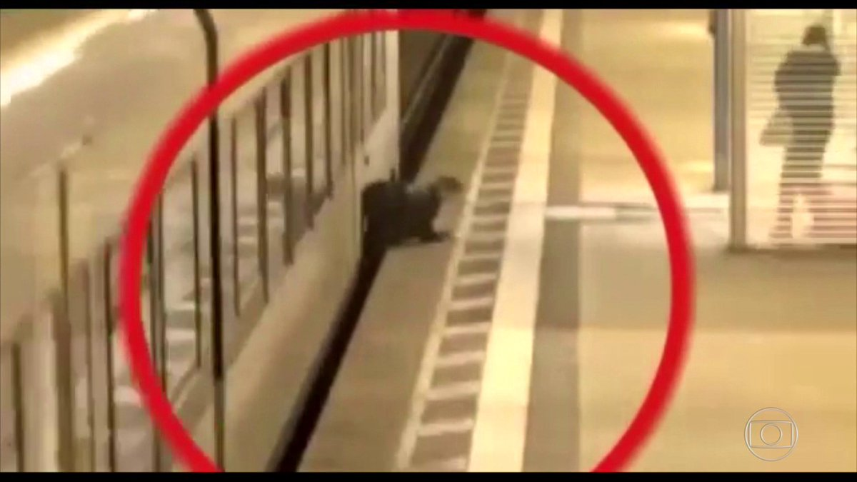 Vídeo alerta sobre riscos de invadir linha férrea, na Alemanha. A imagem é impressionante 😱: https://t.co/gF9z6gL6Mg