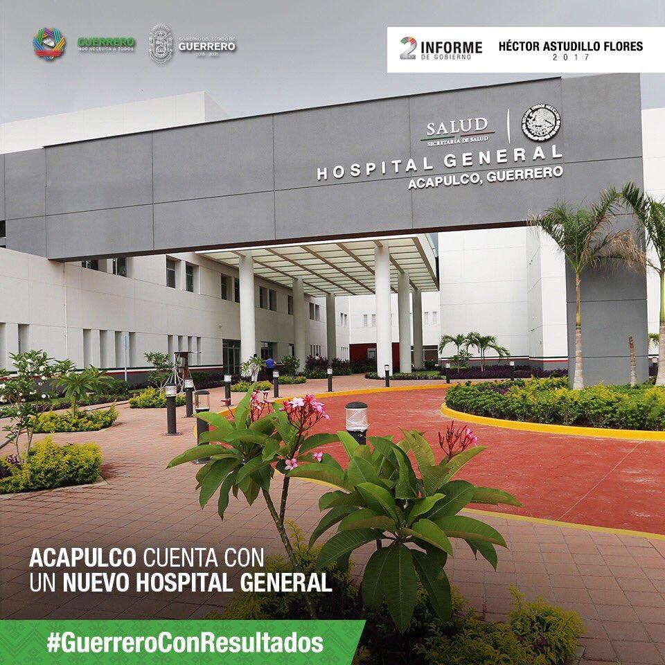 Con el nuevo Hospital General de Acapulco ampliamos la atención médica...