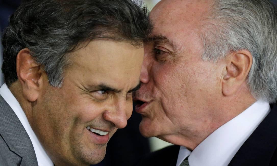 Salvação do Aécio e do Temer é certidão de casamento do PMDB com o PSDB, por Jeferson Miola https://t.co/IUr2TGPvJu