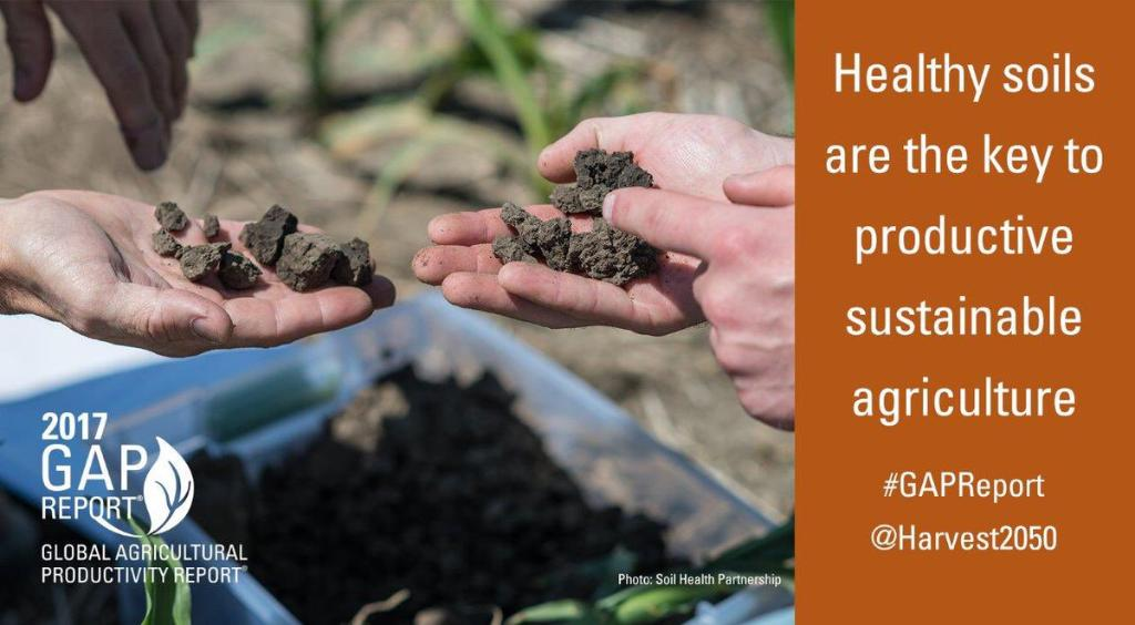 RT @Harvest2050_MZ Healthy #soils are th...