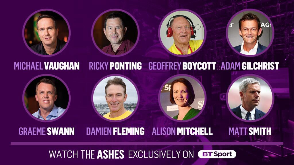 Delighted to be apart of this team this Winter .... #Ashes @btsportcricket https://t.co/MACh38uDb7