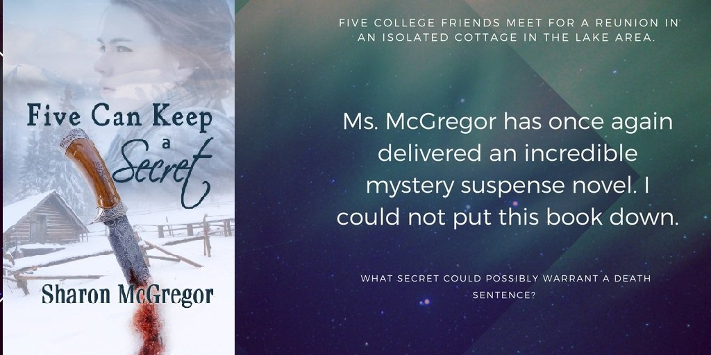Five women, five secrets. Which one is worth killing for? #mystery, #suspense.  https://www. amazon.com/Five-Keep-Secr et-Sharon-McGregor-ebook/dp/B071NL83ZD/ref=asap_bc?ie=UTF8 &nbsp; … <br>http://pic.twitter.com/0naBp0IwQ1