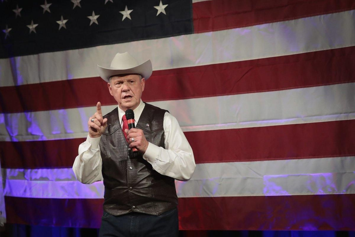 Republican senate candidate Roy Moore accepted donation from Nazi group: report https://t.co/OEbTOJB0n7