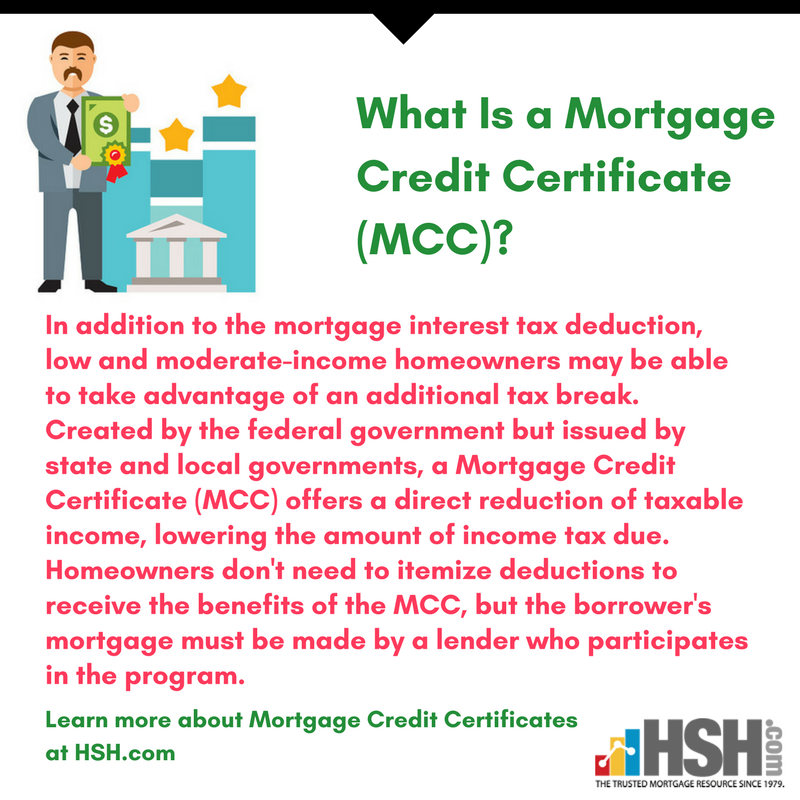 Hsh On Twitter What Is A Mortgage Credit Certificate Mcc