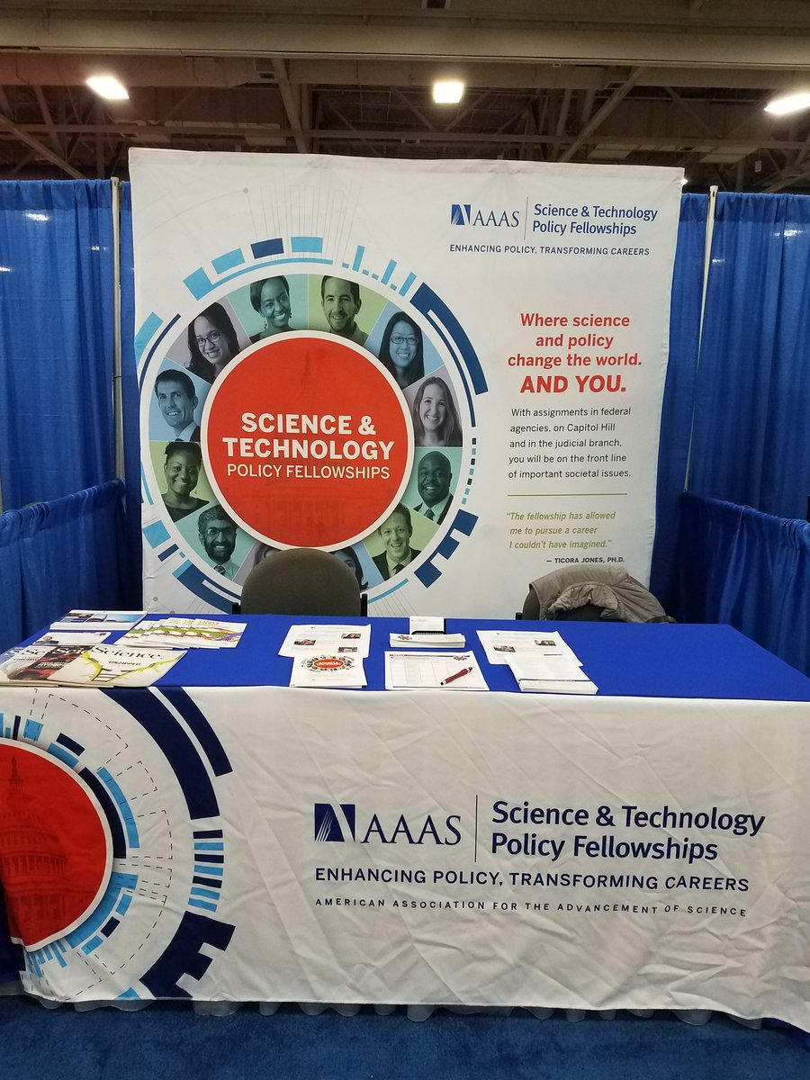 Want to use your #science to impact #policy ? Visit @AAAS_STPF booth 1034. #SACNAS2017 @sacnas<br>http://pic.twitter.com/TqzTRY7HOO