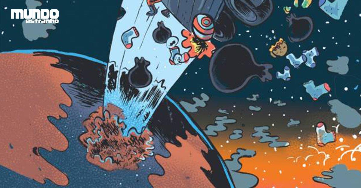 Por que não enviamos o lixo da Terra para o espaço? https://t.co/Nhs2oB4Pof