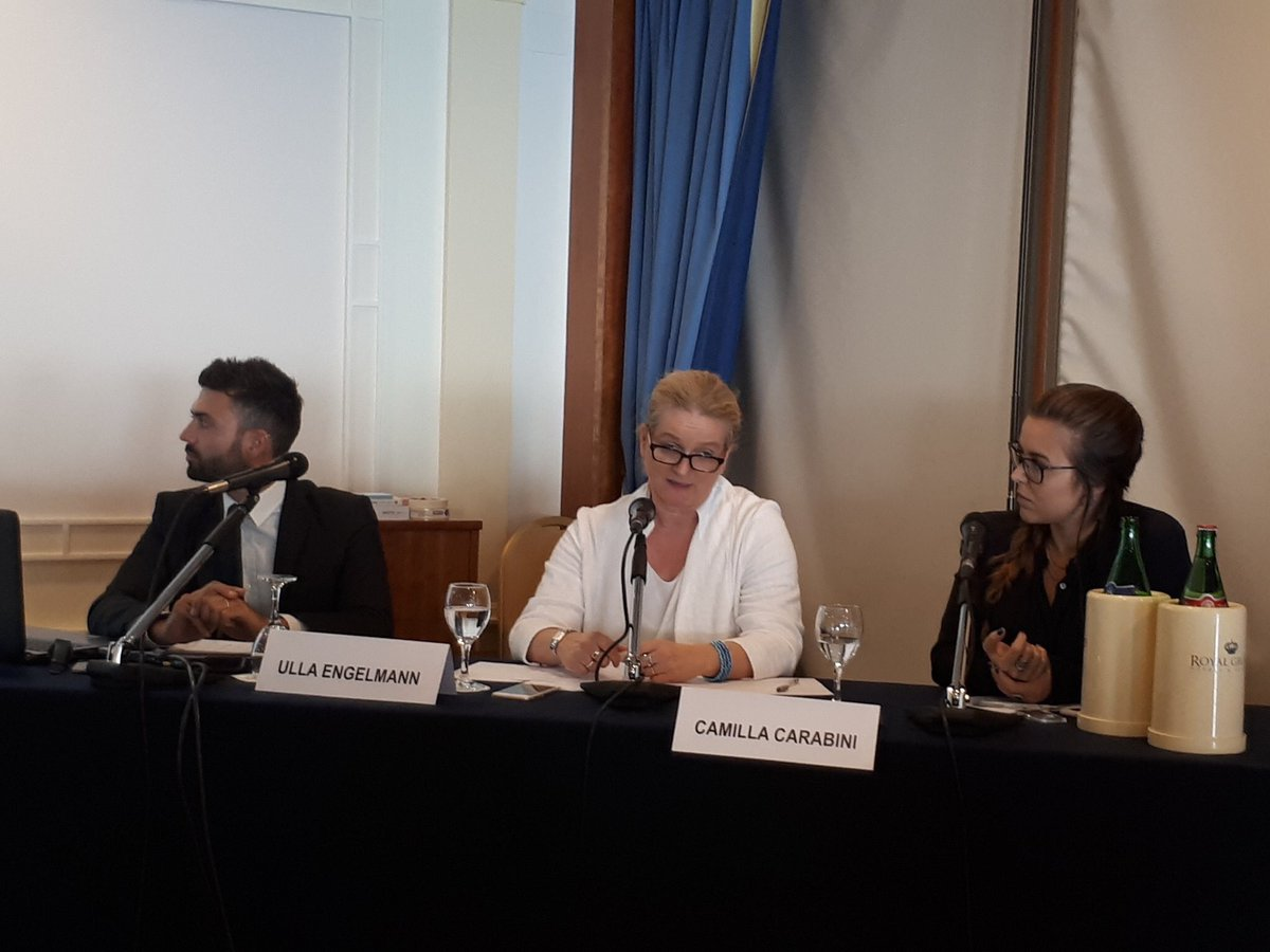 Discussing the role of social cooperation as a tool for #resilience &amp; #growth in EU &amp; developing countries w/ @ulla234 #SCIS2017 #coops4dev<br>http://pic.twitter.com/xCTHf0oZev