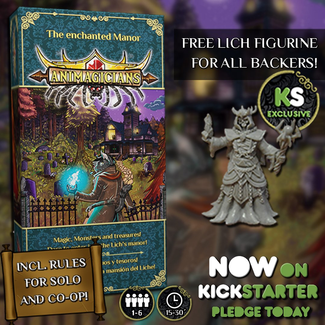 http:// Tinyurl.com/Animagicians  &nbsp;   Today: from 7k to 7278! 66 hours left, let&#39;s reach the 8k goal! #Animagicians #Kickstarter #indiedev #boardgames<br>http://pic.twitter.com/xtLbgbv1RR