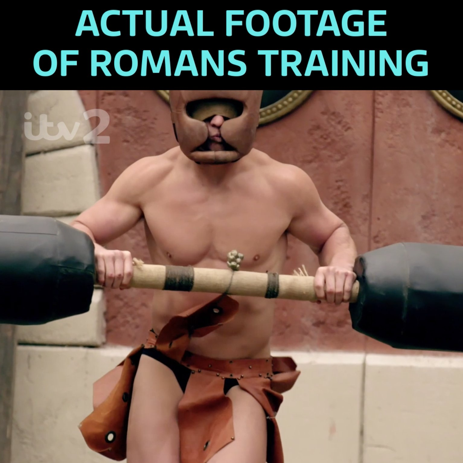When you want to fight, but all you know is piñata..! ⚔⚱️💪  New #Bromans Tonight 9pm @itv2 https://t.co/jScEW7AvPj